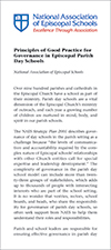 PGP Governance in Episcopal Parish Day Schools Cover